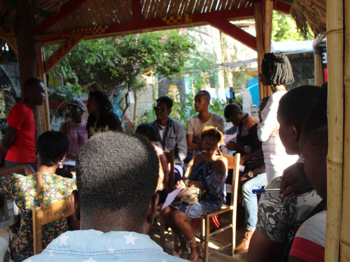 TWENTY YOUNG HAITIAN WRITERS ON THE QUEST FOR THEIR ORIGIN IN AFRICA
