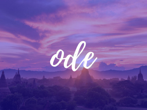 ODE TRIP: A HUMAN, CULTURAL AND RESPONSIBLE TRIP